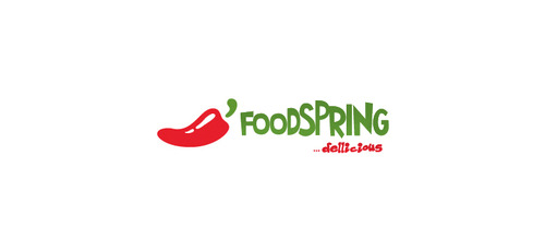 foodspring Logo Winning Design by chauveaumorgane
