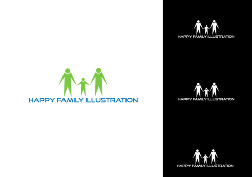 Happy Family Illustration Other  Draft # 5 by jonAM