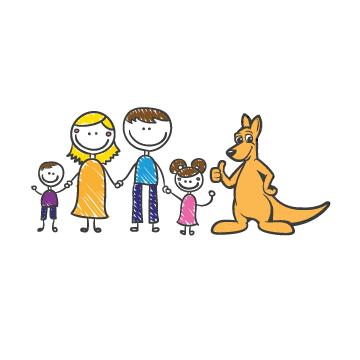 Happy Family Illustration Other  Draft # 16 by MycroDesigner001