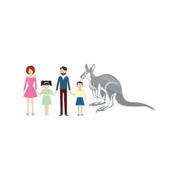 Happy Family Illustration Other  Draft # 17 by MycroDesigner001