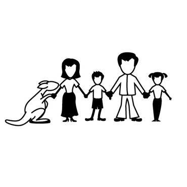 Happy Family Illustration Other  Draft # 27 by creativefly