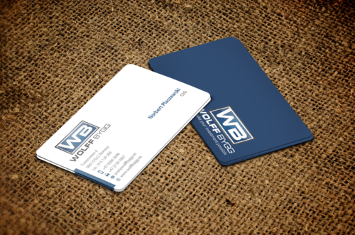 Buiness cards for wolff bygg as Business Cards and Stationery  Draft # 189 by einsanimation