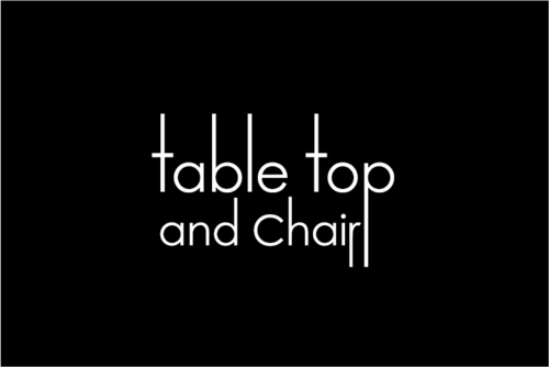 Table Top and Chair Marketing collateral  Draft # 5 by germanyozil