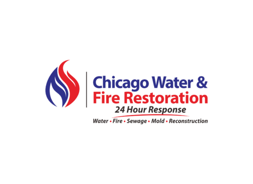 Chicago Water & Fire Restoration (two lines one on top of other separated at end of & symbol) A Logo, Monogram, or Icon  Draft # 309 by yudhiyudhiw