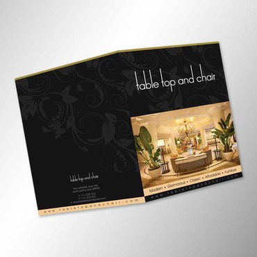 Table Top and Chair Marketing collateral  Draft # 6 by AzzmaxDesign