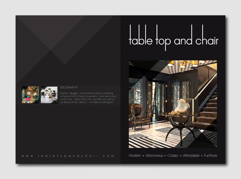 Table Top and Chair Marketing collateral  Draft # 8 by AzzmaxDesign