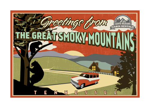 Greetings from The Great Smoky Mountains Marketing collateral  Draft # 5 by mnorth