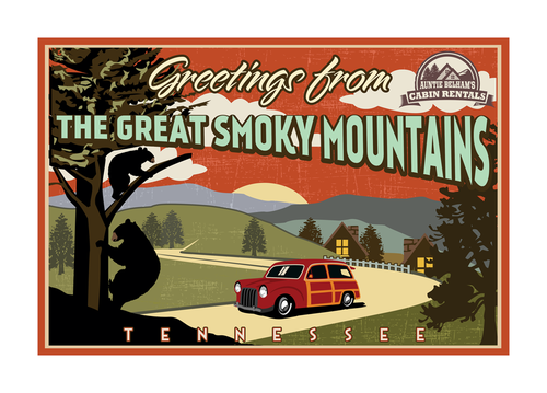 Greetings from The Great Smoky Mountains Marketing collateral  Draft # 8 by mnorth