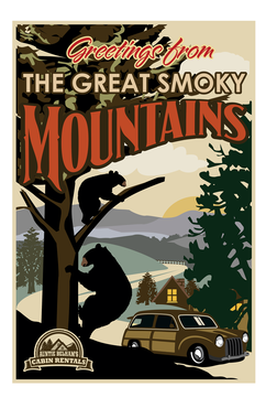 Greetings from The Great Smoky Mountains Marketing collateral  Draft # 9 by mnorth