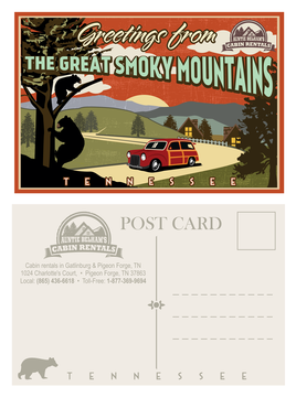 Greetings from The Great Smoky Mountains Marketing collateral  Draft # 24 by mnorth