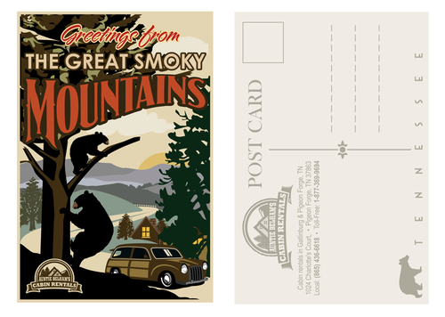 Greetings from The Great Smoky Mountains Marketing collateral  Draft # 25 by mnorth