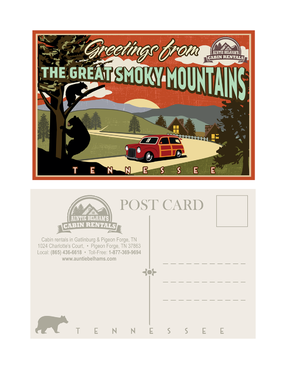 Greetings from The Great Smoky Mountains Marketing collateral  Draft # 33 by mnorth