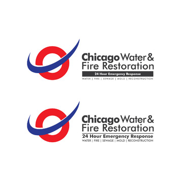Chicago Water & Fire Restoration (two lines one on top of other separated at end of & symbol) A Logo, Monogram, or Icon  Draft # 677 by Abdul700