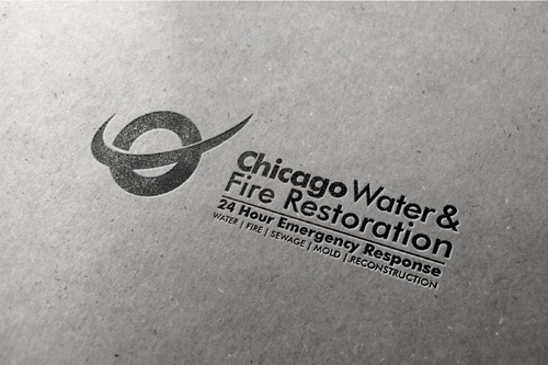 Chicago Water & Fire Restoration (two lines one on top of other separated at end of & symbol) A Logo, Monogram, or Icon  Draft # 678 by Abdul700