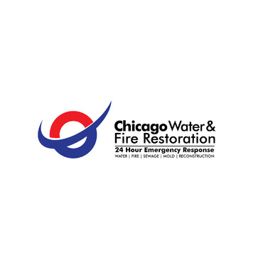 Chicago Water & Fire Restoration (two lines one on top of other separated at end of & symbol) A Logo, Monogram, or Icon  Draft # 679 by Abdul700