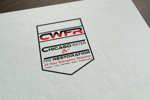 Chicago Water & Fire Restoration (two lines one on top of other separated at end of & symbol) A Logo, Monogram, or Icon  Draft # 700 by mazhar-baloch-90
