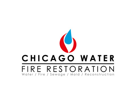 Chicago Water & Fire Restoration (two lines one on top of other separated at end of & symbol) A Logo, Monogram, or Icon  Draft # 706 by Nicanice