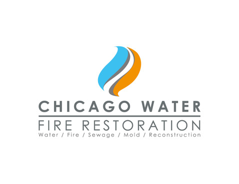 Chicago Water & Fire Restoration (two lines one on top of other separated at end of & symbol) A Logo, Monogram, or Icon  Draft # 707 by Nicanice