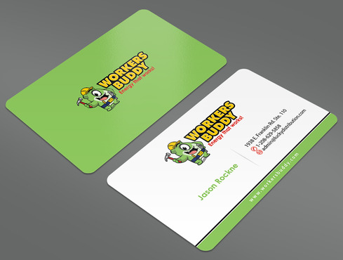 Workers Buddy Business Cards and Stationery  Draft # 6 by ArtworksKingdom