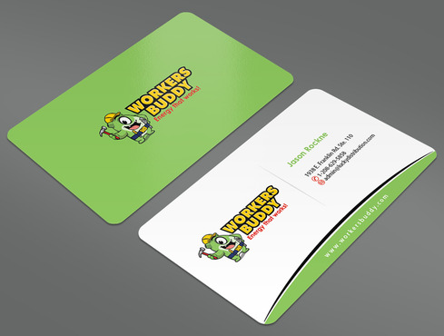 Workers Buddy Business Cards and Stationery  Draft # 7 by ArtworksKingdom