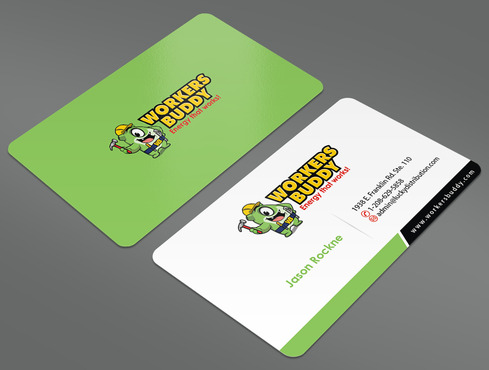 Workers Buddy Business Cards and Stationery  Draft # 10 by ArtworksKingdom