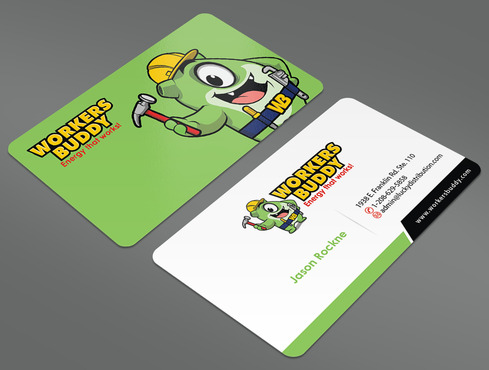 Workers Buddy Business Cards and Stationery  Draft # 12 by ArtworksKingdom