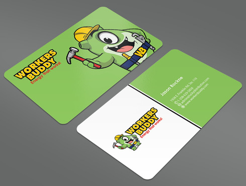 Workers Buddy Business Cards and Stationery  Draft # 13 by ArtworksKingdom