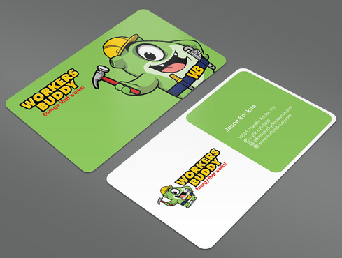 Workers Buddy Business Cards and Stationery  Draft # 14 by ArtworksKingdom