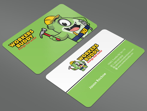 Workers Buddy Business Cards and Stationery  Draft # 15 by ArtworksKingdom