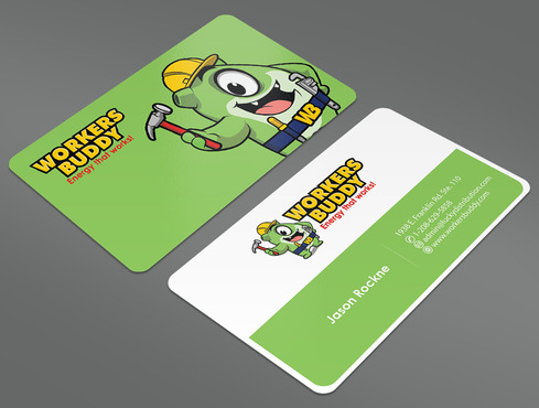 Workers Buddy Business Cards and Stationery  Draft # 16 by ArtworksKingdom