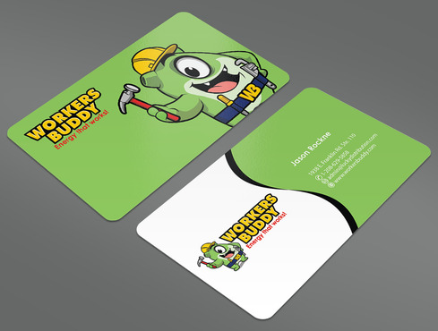 Workers Buddy Business Cards and Stationery  Draft # 17 by ArtworksKingdom