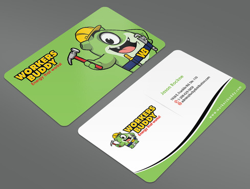 Workers Buddy Business Cards and Stationery  Draft # 18 by ArtworksKingdom