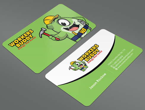 Workers Buddy Business Cards and Stationery  Draft # 19 by ArtworksKingdom