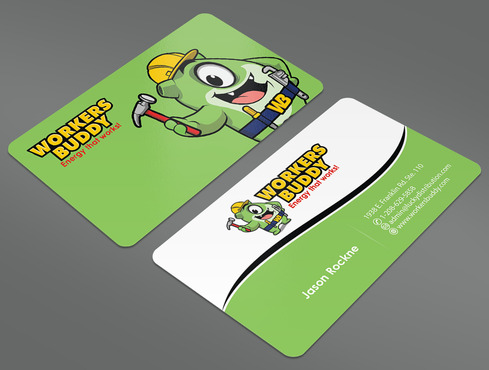 Workers Buddy Business Cards and Stationery  Draft # 20 by ArtworksKingdom
