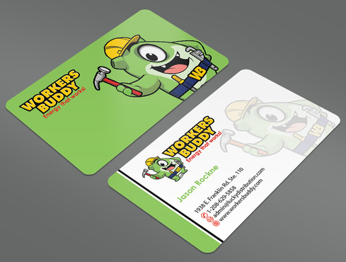 Workers Buddy Business Cards and Stationery  Draft # 22 by ArtworksKingdom