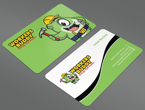 Workers Buddy Business Cards and Stationery  Draft # 23 by ArtworksKingdom