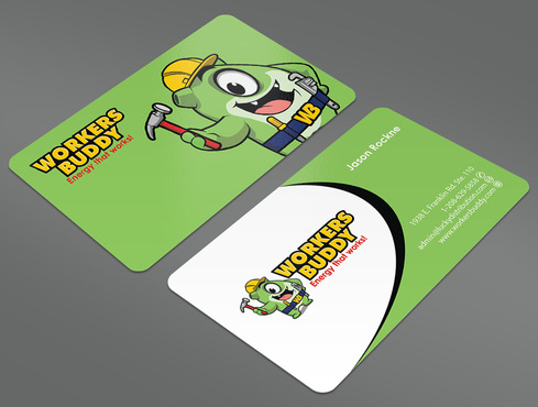 Workers Buddy Business Cards and Stationery  Draft # 26 by ArtworksKingdom