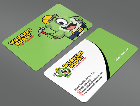 Workers Buddy Business Cards and Stationery  Draft # 27 by ArtworksKingdom