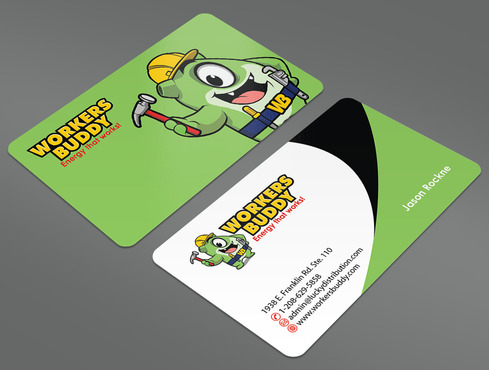 Workers Buddy Business Cards and Stationery  Draft # 28 by ArtworksKingdom