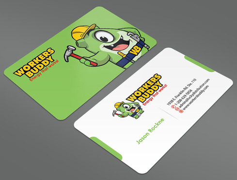 Workers Buddy Business Cards and Stationery  Draft # 29 by ArtworksKingdom