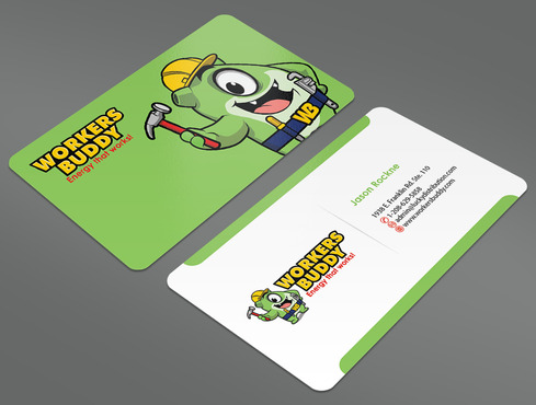 Workers Buddy Business Cards and Stationery  Draft # 30 by ArtworksKingdom