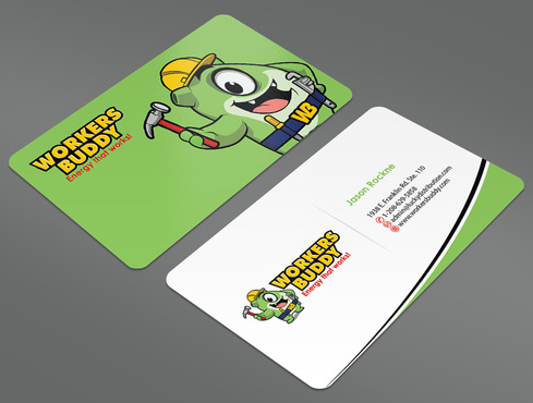 Workers Buddy Business Cards and Stationery  Draft # 31 by ArtworksKingdom