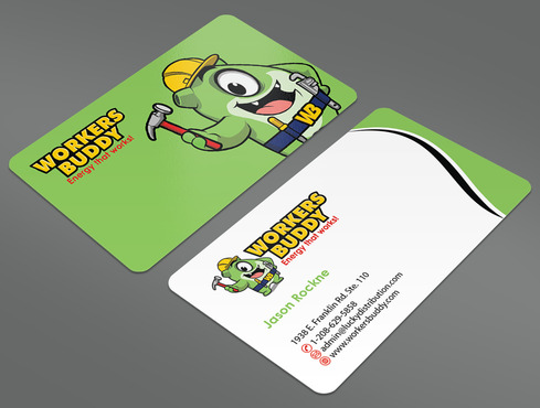 Workers Buddy Business Cards and Stationery  Draft # 32 by ArtworksKingdom