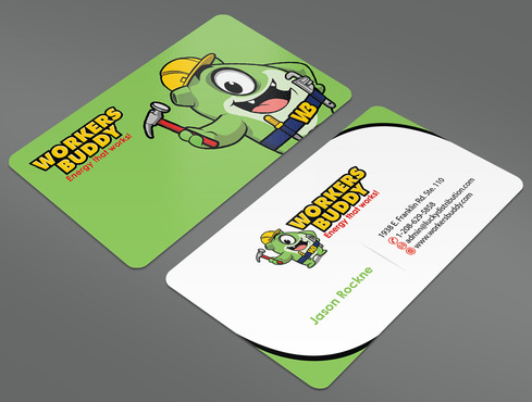 Workers Buddy Business Cards and Stationery  Draft # 33 by ArtworksKingdom