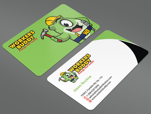 Workers Buddy Business Cards and Stationery  Draft # 34 by ArtworksKingdom