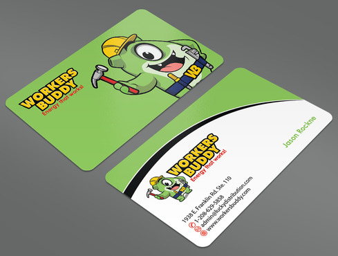Workers Buddy Business Cards and Stationery  Draft # 35 by ArtworksKingdom
