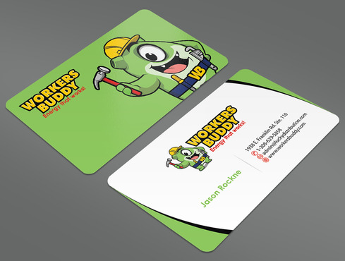 Workers Buddy Business Cards and Stationery  Draft # 36 by ArtworksKingdom