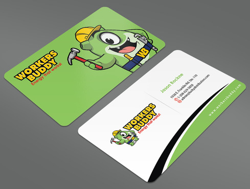 Workers Buddy Business Cards and Stationery  Draft # 37 by ArtworksKingdom