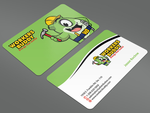 Workers Buddy Business Cards and Stationery  Draft # 38 by ArtworksKingdom
