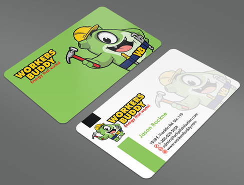 Workers Buddy Business Cards and Stationery  Draft # 39 by ArtworksKingdom